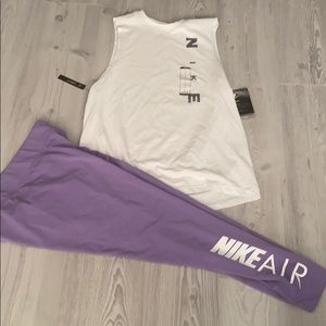 Nike set large for women